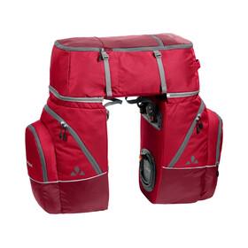 VAUDE Karakorum - Bolsa bicicleta - 3 Pieces rojo
